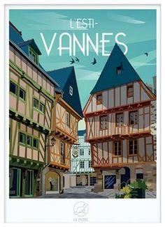 Victor Brauner, Flexibility Training, Ville France, Vintage Travel Posters, Belle Photo, Road Trip, Retro, City, Prints