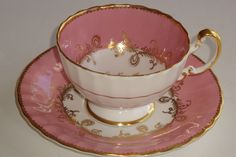 I have this one. Aynsley Pink Tea Cup and Saucer $200 Ebay $13 S/H