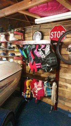 Life Jacket Rack 64 Capacity Handyman In 2019 Pinterest House