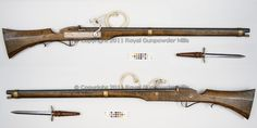 1600s matchlock rifle - Google Search