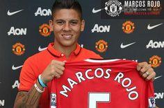 Marcos Rojo es un paso grande en mi carrera. August 22, 2014.