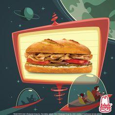 Dünya değişir, Çıtır Baget Tavuklu Sandviç tutkusu bakidir :)