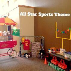 NatalieKMudd: All Star Sports BIrthday Party