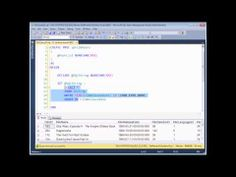 SQL Server Programming Part 13 - Dynamic SQL - Dynamic SQL allows you to build a complete statement out of individual strings of text and execute it as though it was an SQL statement. It allows you to create immensely flexible queries in which any part of a statement can be parameterised but it can also leave you vulnerable to the dreaded SQL injection attack!