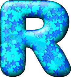 Presentation Alphabets: Party Balloon Cool Letter R,