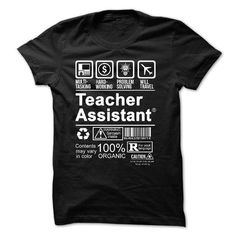 FUNNY TEACHER ASSISTANT T-Shirts, Hoodies, Sweatshirts, Tee Shirts (19.98$ ==► Shopping Now!)