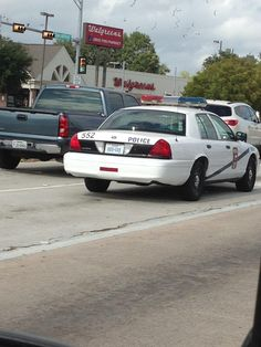Alief ISD Police Ford Crown Victoria (Old Livery - Houston)