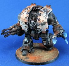 Cold Painting Table: Raven Guard Leviathan Dreadnought