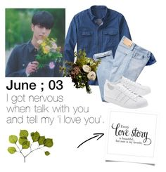 """""""Make a confession is easier than tell it."""" by fxxkwithus on Polyvore featuring TravelSmith, adidas Originals, Dot & Bo, Abigail Ahern, men's fashion, menswear, outfit, men and ikon"""