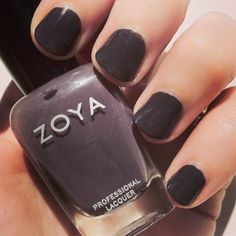 Zoya Petra, which can look grey, purple, or brown depending on the lighting. #nails #nailpolish #instnails #nailsofinstagram #zoya #zoyapetra #beautyblogger #beautybloggers #swatch #bblogger #bbloggers
