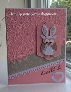 paper bag create: Easter Wishes.....it's a Winner!!