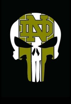Punisher College Football Logos, Nd Football, Buffalo Bills Football, Football Quotes, Notre Dame Football, Notre Dame Logo, Notre Dame Irish, Irish Fans, Go Irish