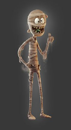 character design, illustration, and mummy image Halloween Illustration, Creepy Pictures, Halloween Pictures, Character Design Cartoon, 3d Character, Halloween Horror, Halloween Art, Halloween Wallpaper, Modelos 3d