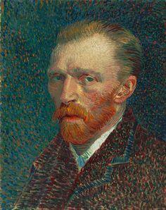 """Autorretrato, primavera de 1887, pintura a óleo  É interessante como Van Gogh não utiliza ponto de fuga, utilizando a técnica visando dar nítida impressão de puro movimento, ou seja, ao invés de representar a si estaticamente, representa a si como algo em movimento. O uso de cores o leva a encarar seu olhar, daí a pergunta: Estaria o artista colocando que para vê-lo representado precisamos ver seu olhar? Seria """"olhos sendo a janela da alma"""", ou um convite a ver seu olhar através das…"""