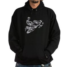 Camo Grey Sled on Black copy.png Sweatshirt