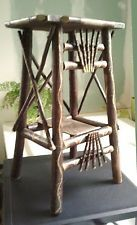 Home & Garden products for sale Hickory Furniture, Cabin Furniture, Woodworking Furniture, Rustic Furniture, Natural Furniture, Rustic Table, Rustic Decor, Western Decor, Willow Furniture