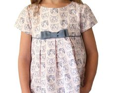 GIRLS DRESS PATTERN  The Maddie Lou Dress sizes por TheFreckledPear