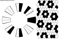 Kumihimo Pattern-16 thread-K993 - friendship-bracelets.net
