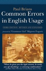 Common Errors in English Usage: Third Edition | William, James & Company. Good gift for Word Nerds!