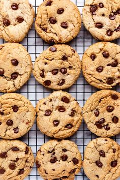 Chewy Vegan Chocolate Chip Cookies - ilovevegan.com #vegan Vegan Chocolate Chip Cookie Recipe, Best Vegan Chocolate, Chocolate Chunk Cookies, Vegan Candies, Vegan Desserts, Vegan Sweets, Vegan Food, Vegan Recipes, Vegan Baking
