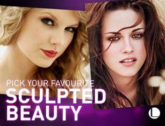 Hollywood sculpted beauties