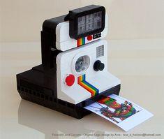 Lego Polaroid Camera.