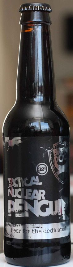 Bucket List - Tactical Nuclear Penguin: One of a new breed of beer with very high alcohol ABV) content achieved by freezing along with impressive price. More Beer, All Beer, Best Beer, Beer Brewing, Home Brewing, Best Craft Beers, Beers Of The World, Beer Snob, Beer Packaging