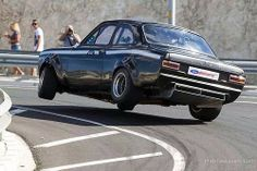 Do The Hundeknochen Jive. Escort Mk1, Ford Escort, Ford Classic Cars, Wide Body, Car Ford, Motor Car, Cars And Motorcycles, Touring, Cool Cars