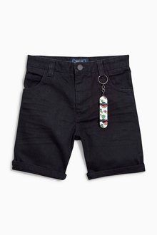 Next Five Pocket Shorts With Keyring (3-16yrs)