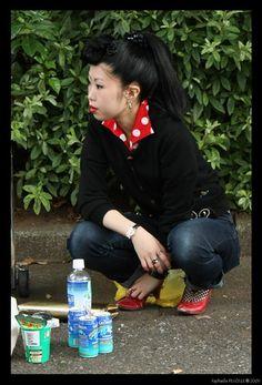 Tokyo rockabilly girl