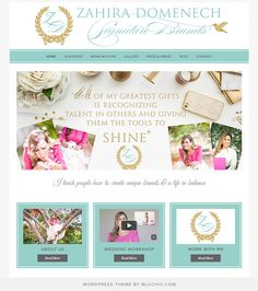 Use Geraldine Theme #WordPress. Shop at http://www.bluchic.com/shop/wordpress-themes/geraldine-theme
