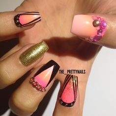 nails.quenalbertini: Instagram photo by the_prettynails   ink361