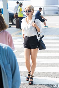 AOA - Park ChoA #박초아 #초아 #초아야 commute fashion