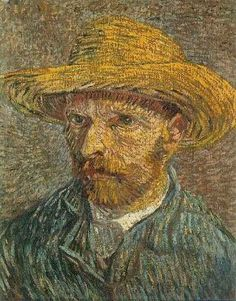 """Vincent van Gogh (d.o.d. 7/29/1890)  van Gogh, as many of us learned as children in school, was a famous Dutch post-impressionist artist.  when you go Ghost Hunting, you might wish to dye your hair red, and """"Gogh"""" dressed like the painter (see self-portrait).  Notorious for having gone insane and then cut off his own right ear (ouch!), wearing a bandage as part of your costume is optional."""