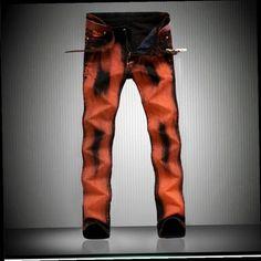 41.30$  Buy here - http://alidgt.worldwells.pw/go.php?t=32739800206 - European Mens Brand Graffiti Biker Jeans Casual Fashion Classical Male Denim Pants Men Jeans Straight Male Pant 41.30$