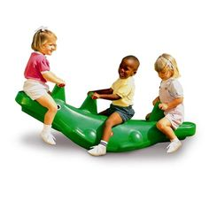 Will and Elizabeth are turning 2! Classic Alligator Teeter Totter for $79.99 #littletikes