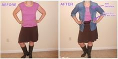 Life in Fashion (Fix) : Dump The Frump: More Belts & Blouses!