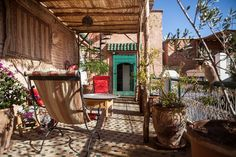 Schau dir dieses großartige Inserat bei Airbnb an: The terrace bedroom at Dar Kleta - Bed & Breakfast zur Miete in Marrakesch