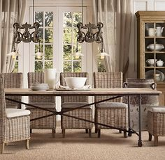Driven By Décor: Is Kubu For You?: Kubu Grey Rattan Dining Chairs