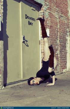 #Yoga Poses Around The World: Jackie P., in Dallas, United States