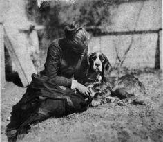 Thomas Eakins (1844-1916) • Woman & Dog I