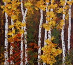 Birches by Patricia Busso