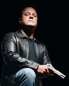 The Shield, Mike Chiklis as one bad ass mixed up cop, playing sexy Vic Mackey. Wish it never would have ended!!
