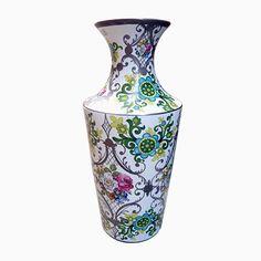 Große Florale Porzellan Vase von Bohemia JN Barcelona, 1970er Jetzt bestellen unter: https://moebel.ladendirekt.de/dekoration/vasen/tischvasen/?uid=57313509-8a59-5525-84f0-4d5ac08c0754&utm_source=pinterest&utm_medium=pin&utm_campaign=boards #tischvasen #vasen #dekoration