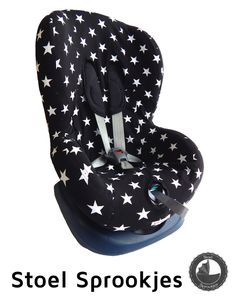Nieuwe autostoel hoes groep 1 (+) voor onder andere Maxi Cosi Priori, Römer King, Chicco, Cabino, Safety1st, Fisher Price. Misschien ook Maxi Cosi Tobi, Pearl, Axiss en Rubi. Car seat cover toddler bezug >> https://www.stoelsprookjes.nl/a-39183047/autostoel-hoes/stoelhoes-ster-zwart/
