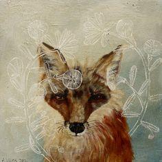 Anne Siems: Paintings - fox