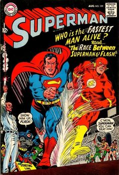 Superman #199 by DC Comics 1967