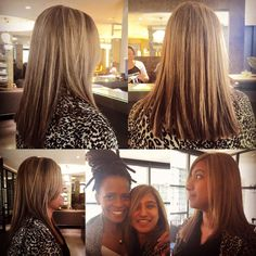 Gorgeous blonde highlights by Carmel at Midori.