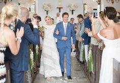 Mollie Ruprecht married Alex Acquavella during an incredible three day celebration in St. Barth's. ©Joshua Bright and Ali Smith Alice-in-Weddingland.com