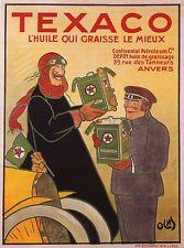 Vintage Advertising Posters   Texaco